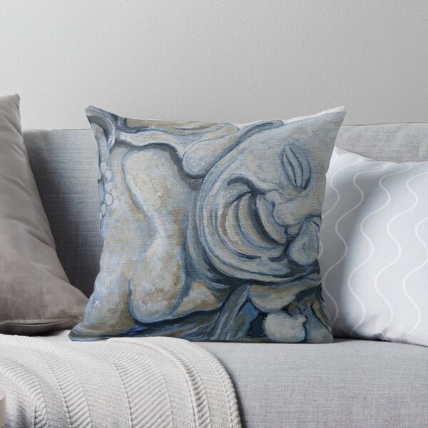 Buddha Bella Throw Pillow