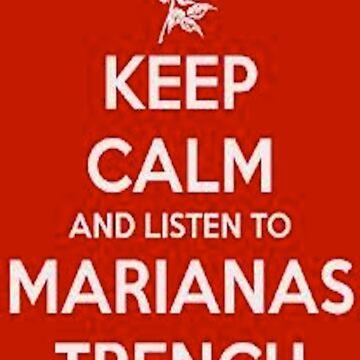 Keep Calm - Tshirt by Trenchersnz