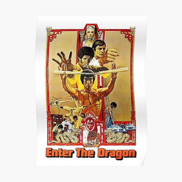Bruce Lee - Enter the Dragon Poster Poster