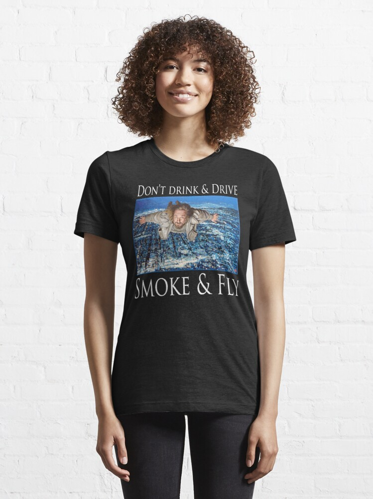 Alternate view of Smoke and Fly Essential T-Shirt