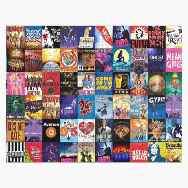 Broadway Theater Jigsaw Puzzle