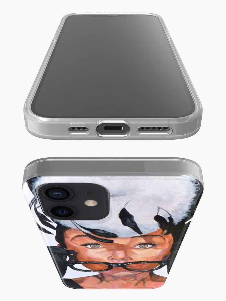 Alternate view of Audrey Hepburn iPhone Case & Cover