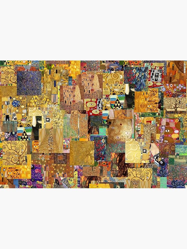 Gustav Klimt by Montage-Madness