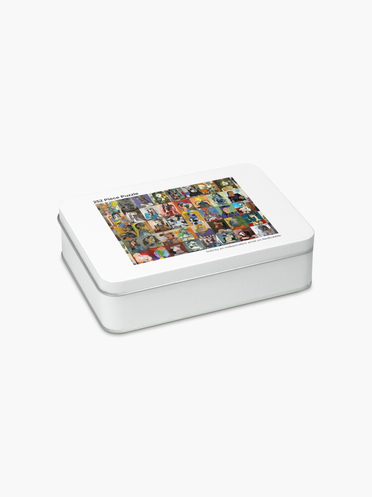 Alternate view of Picasso Faces Jigsaw Puzzle