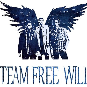 Team Free Will in BLUE by stormthief19