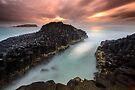 """Obsidian"" ∞ Fingal Head, NSW - Australia by Jason Asher"