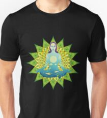 Young woman practicing meditation 4 T-Shirt