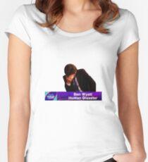 Ben Wyatt, Human Disaster Women's Fitted Scoop T-Shirt