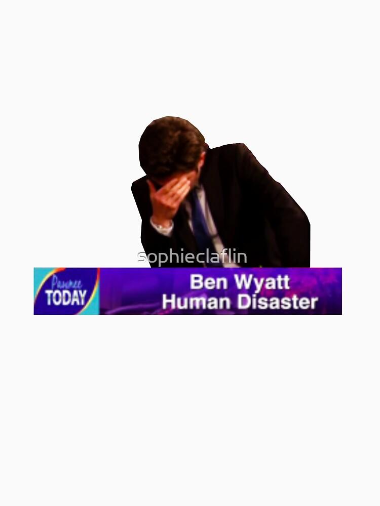 Ben Wyatt, Human Disaster by sophieclaflin