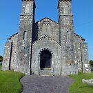 Church at Bodernabwy by Paul  Green