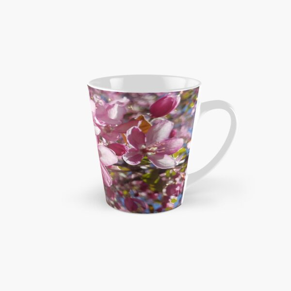 Pink Apple Blossoms in Spring Tall Mug