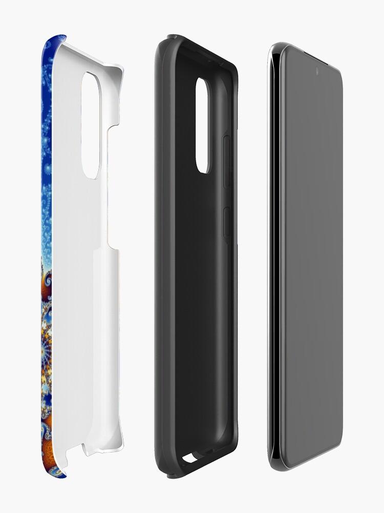 Alternate view of Mandelbrot set Case & Skin for Samsung Galaxy