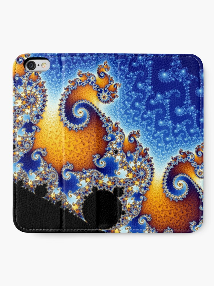 Alternate view of Mandelbrot set iPhone Wallet