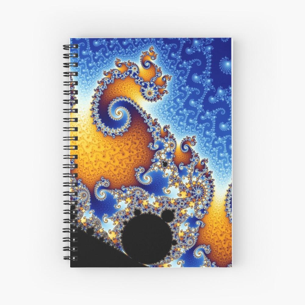 Mandelbrot set Spiral Notebook