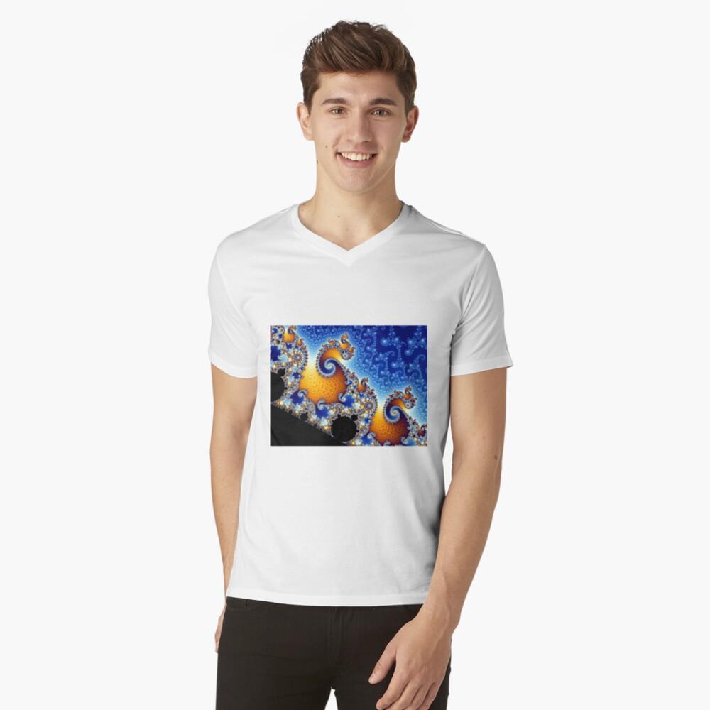 Mandelbrot set V-Neck T-Shirt