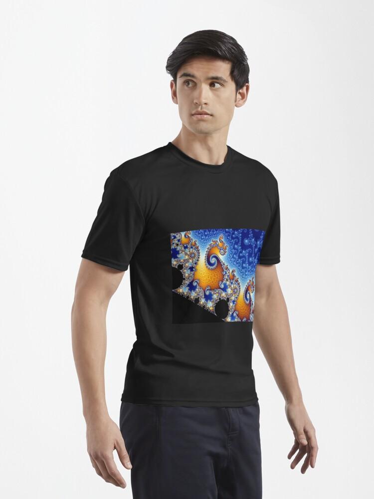Alternate view of Mandelbrot set Active T-Shirt