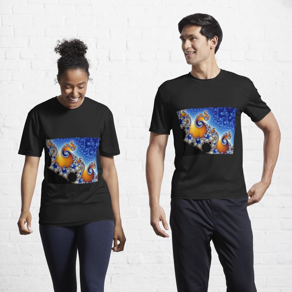 Mandelbrot set Active T-Shirt