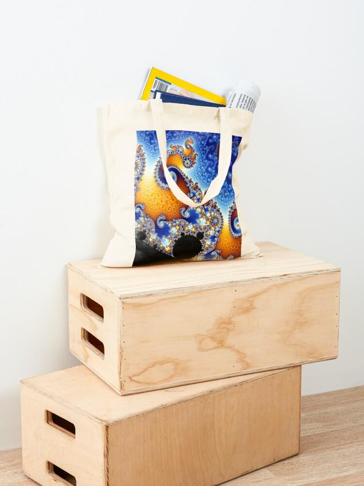 Alternate view of Mandelbrot set Tote Bag