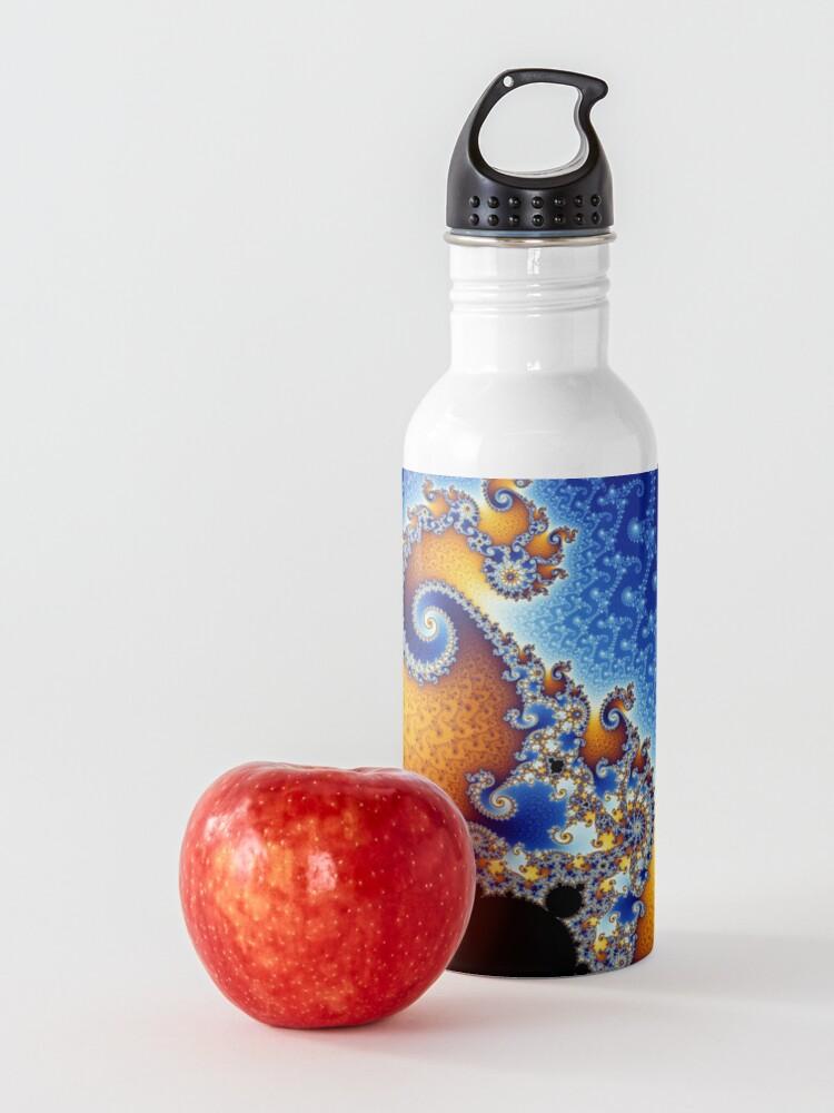Alternate view of Mandelbrot set Water Bottle