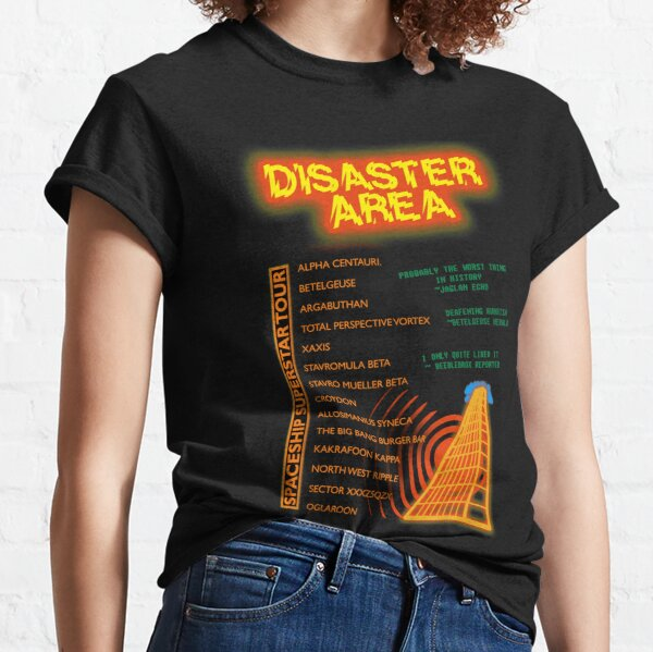 Hitchhikers Guide - Disaster Area Tour Classic T-Shirt