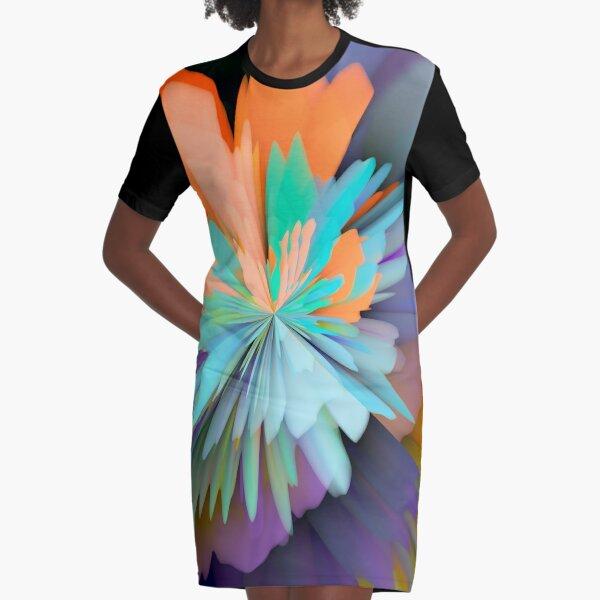 Fiesta Graphic T-Shirt Dress
