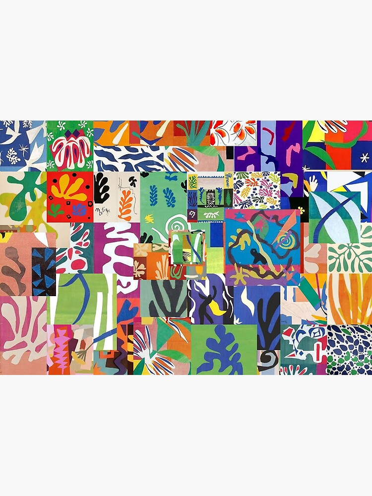 Henri Matisse Cutouts by Montage-Madness