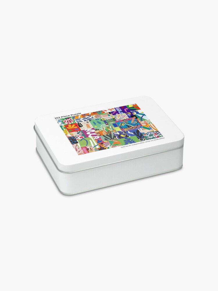 Alternate view of Henri Matisse Cutouts Jigsaw Puzzle