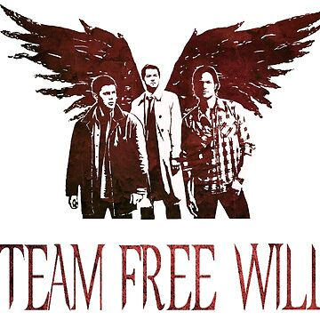 Team Free Will in RED by stormthief19