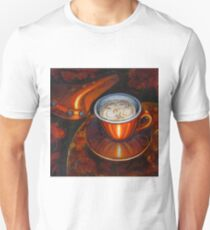Still life with bicycle saddle T-Shirt