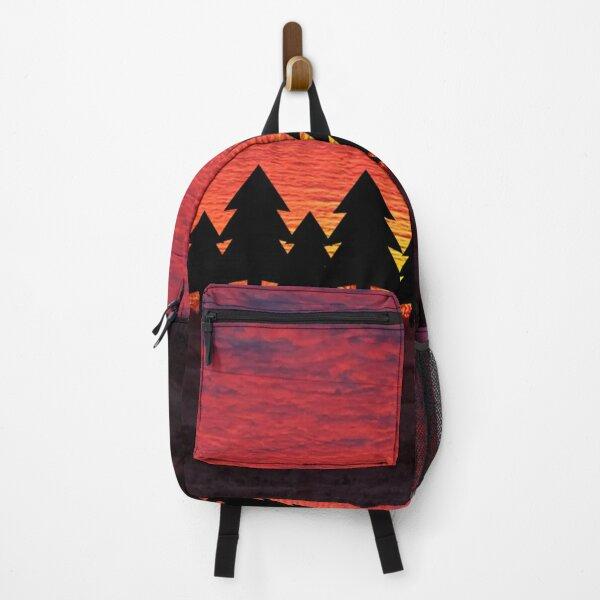 Sunset Trees Backpack