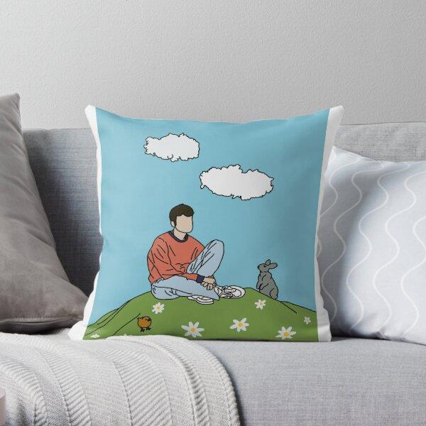 Rex Orange County Throw Pillow
