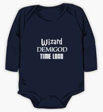 Fandoms: Wizard, Demigod, Time Lord One Piece - Long Sleeve