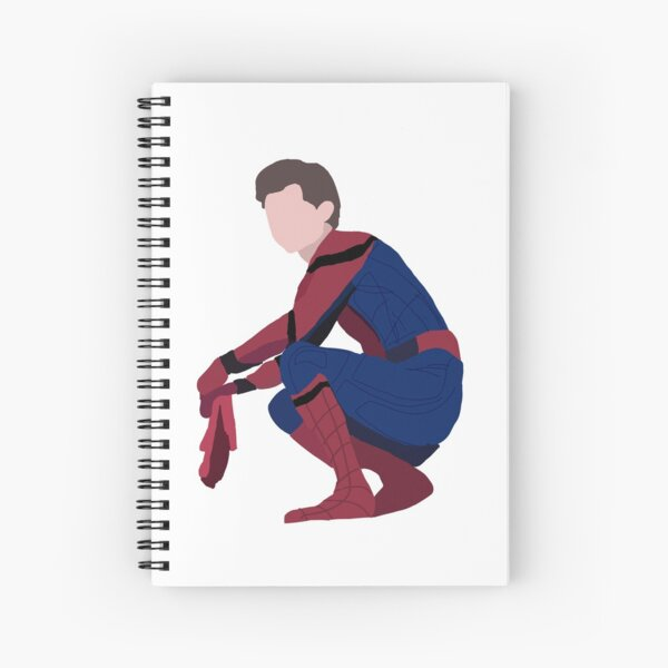 Tom Holland as Spidey Spiral Notebook