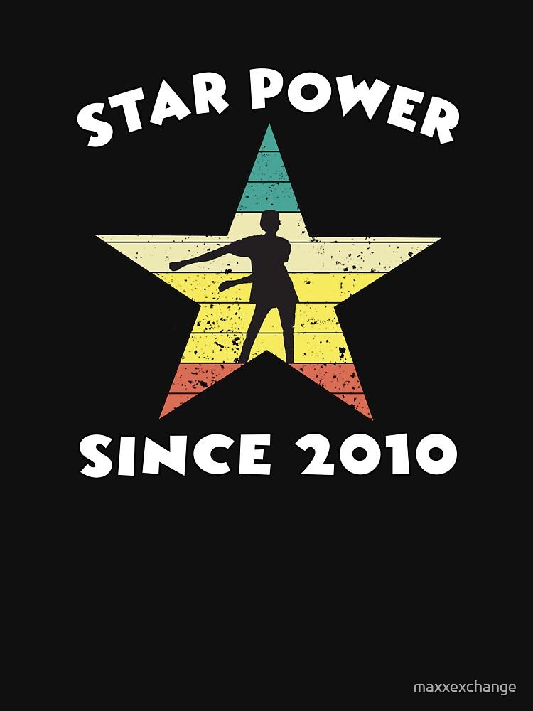 Ten Year Old Birthday 2010 Star Power Floss Dance. by maxxexchange