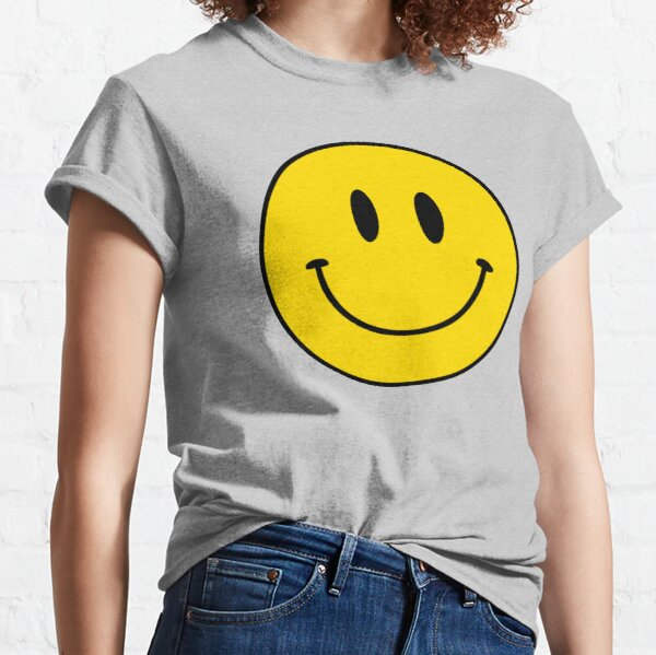 Happy Face | Smiley | 2 |  Classic T-Shirt