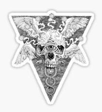 Ajna awakening - lines Sticker