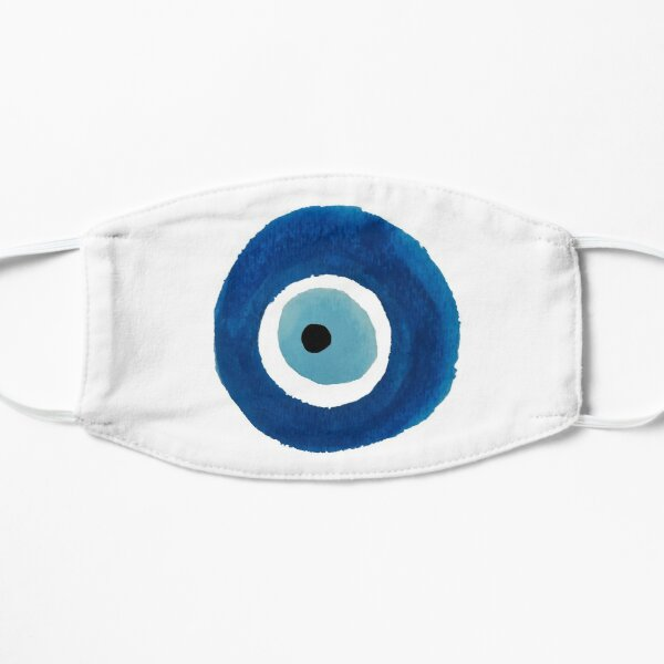 Watercolor Evil Eye (Nazar) Painting – Best Seller Mask