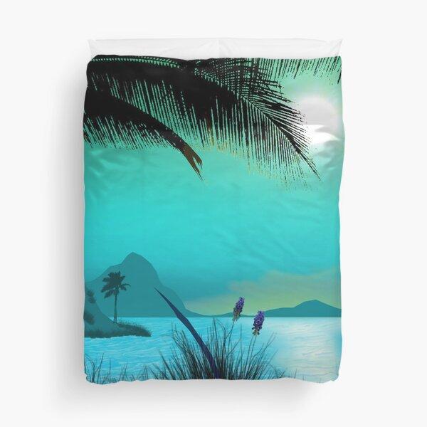 Hawaiian Islands Duvet Cover