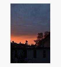 Townscape sunrise Photographic Print