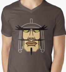 Vamp-Sama + Transparency Mens V-Neck T-Shirt