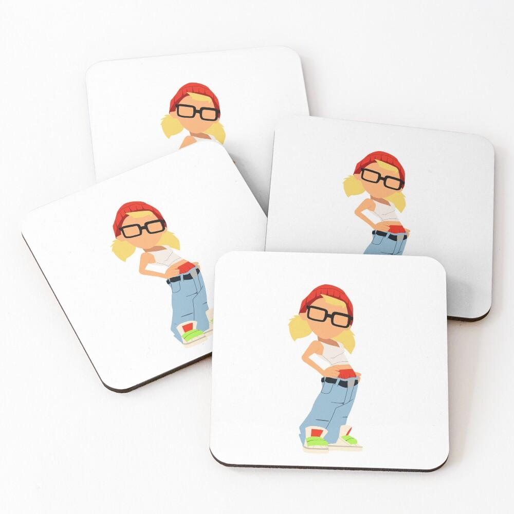 Tricky Coasters (Set of 4)