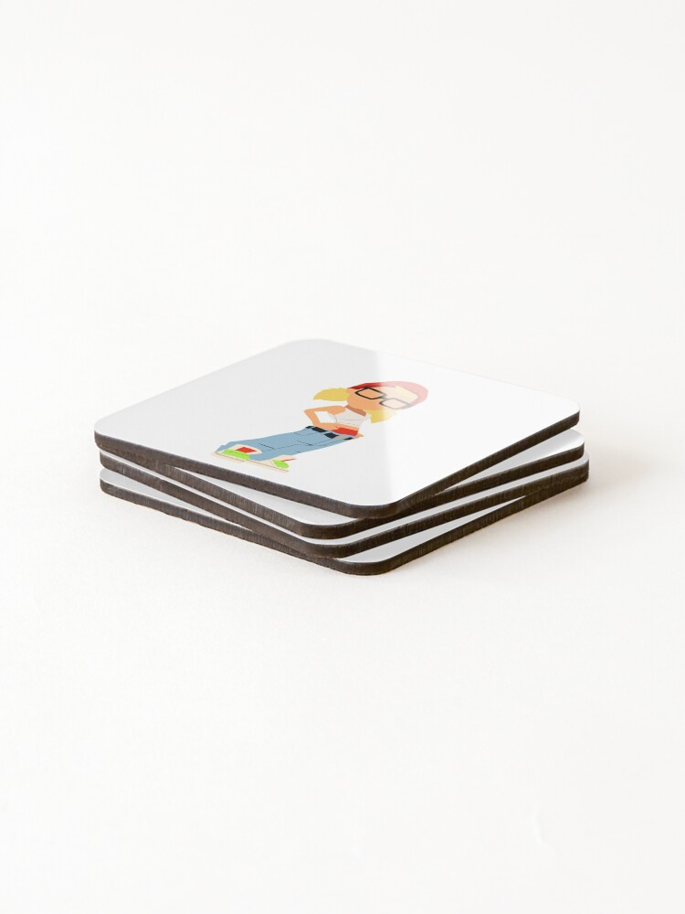 Alternate view of Tricky Coasters (Set of 4)