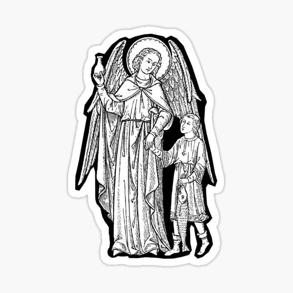 St Raphael and Tobiah Sticker