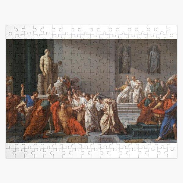 Et tu, Brute? Even you, Brutus? Death of Caesar by Vincenzo Camuccini #DeathofCaesar #Death #Caesar #VincenzoCamuccini  #EtTuBrute #EvenYouBrutus Jigsaw Puzzle
