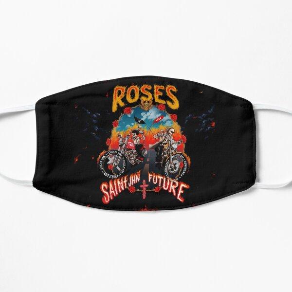 roses saint jhn Flat Mask
