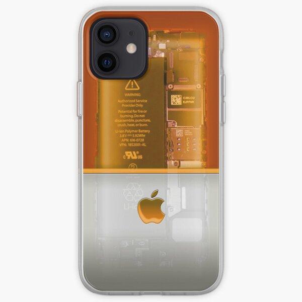 Apple phone Case - Orange iPhone Soft Case