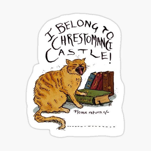 I belong to Chrestomanci Castle! Sticker