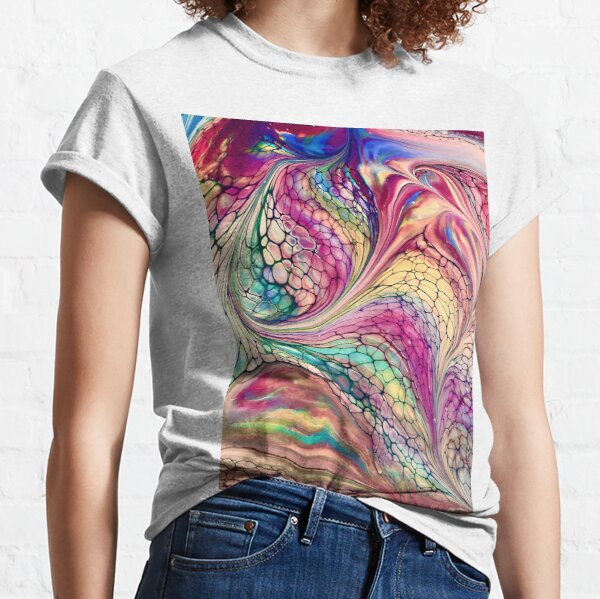 Cotton Candy Swirl Classic T-Shirt