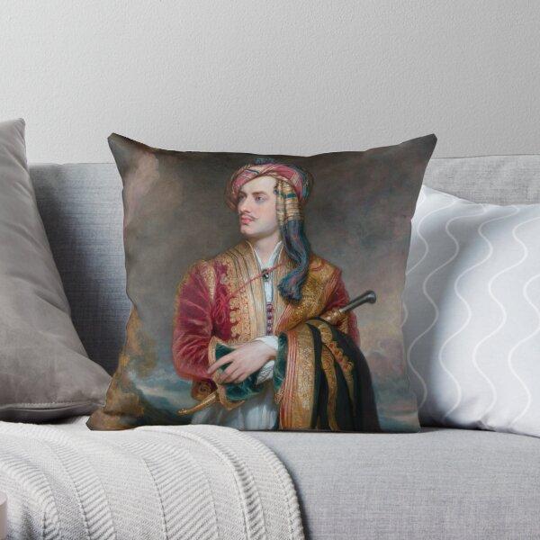 Lord Byron in albanischer Tracht - 1813 Dekokissen