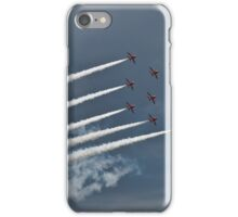 Red Arrows Formation iPhone Case/Skin